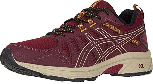 ASICS Women's Gel-Venture 7 Running Shoes, 9.5M, Chili Flake/Wood Crepe
