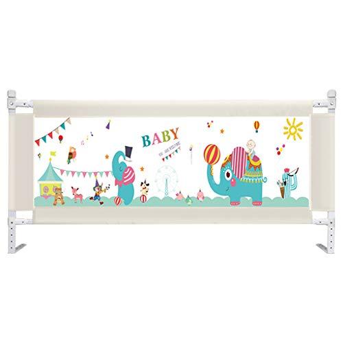 Baby safety bed guardrail BarrièRe De Lit à Levage Vertical, 5 Vitesses, 1,2 M Prince (éLéPhant) ~ avec SystèMe De SéCurité à Ancre RenforcéE