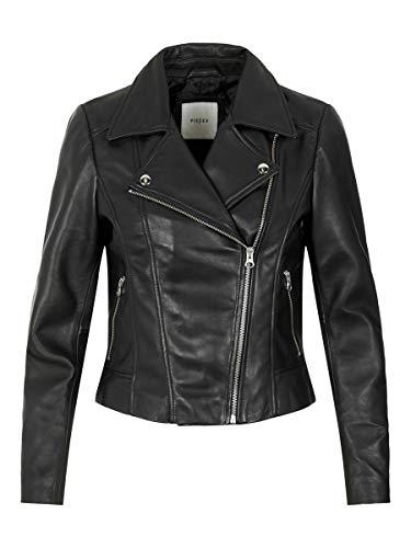 PIECES Dames Pcsusse Leather Jacket Kac leren jas