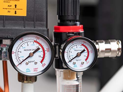 Starkwerk Druckluftkompressor SW 475/10 – 10 Bar – 100L Kessel - 4