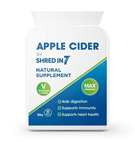 Apple Cider Vinegar Capsules | Natural Wellbeing | Premium Quality | High Strength Capsules | EU Safe & Legal Formula | Vegetarian & Vegan Friendly | UK Made with Pride in Cambridge