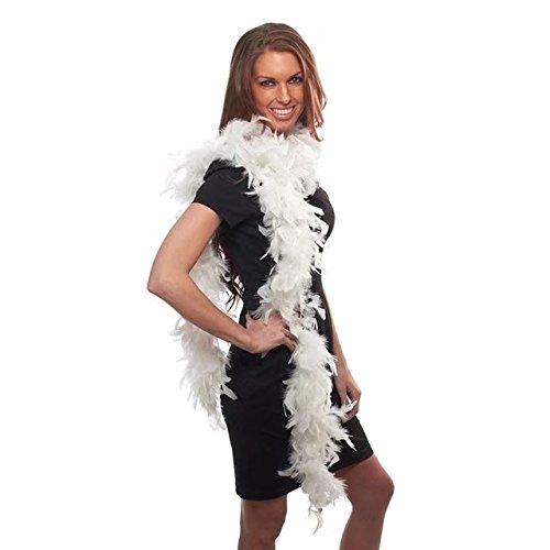 CELINE Lin 1,8 m \ Beaucoup Vêtements Accessoires Turquie plumes Multi Couleur Strip Fluffy Boa Happy Birthday Party Décorations de mariage Fournitures, Blanc