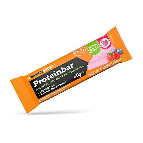 Named Sport Proteinbar Red Fruits & Yoghurt Barretta Proteica, 50g