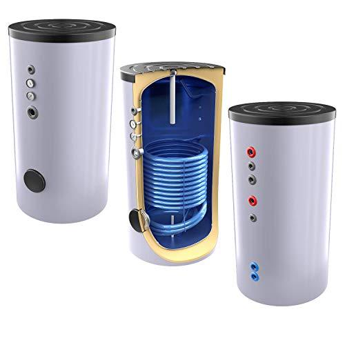 Neue Generation 400 Liter Solarspeicher, Warmwasserspeicher mit 1 elliptischen Wärmetauscher