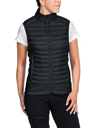 VAUDE Damen Weste Kabru Light Vest II, black, 40, 403910100400
