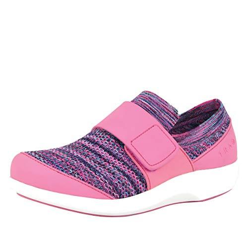 Alegria TRAQ Qwik Womens Smart Walking Shoe Pink