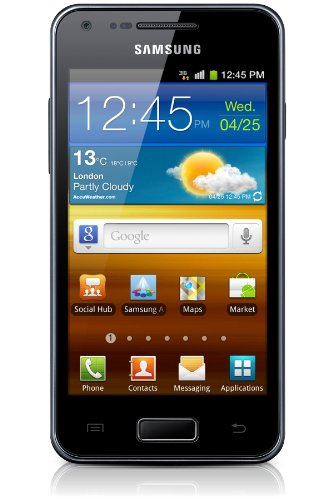 Samsung Smartphone Galaxy S Advance, Display 4 Pollici Wi - Fi, Nero [Italia]