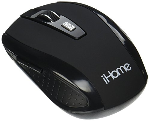 iHome | Desktop Mouse - Wireless Mouse - Black (See More Colors)