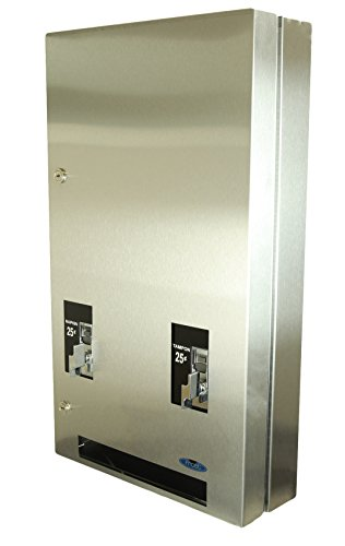Frost 608-3-0.25 Napkin and Tampon Dispenser, Metallic
