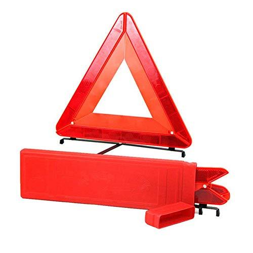 Reemky Faltbares Warndreieck LED-Sicherheitsauto/Straßenrandreflektierendes Notdreieckreflektor-Blinklicht (1PCS)