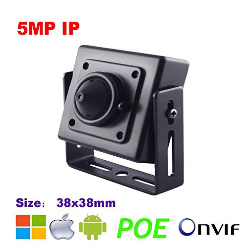 NightKing Indoor 5MP Mini Cube Verborgen Spy Beveiliging IP Camera,5MP 1920P (2592X1944), 3,7 mm Pinhole Lens, P2P, ONVIF, Gratis App View