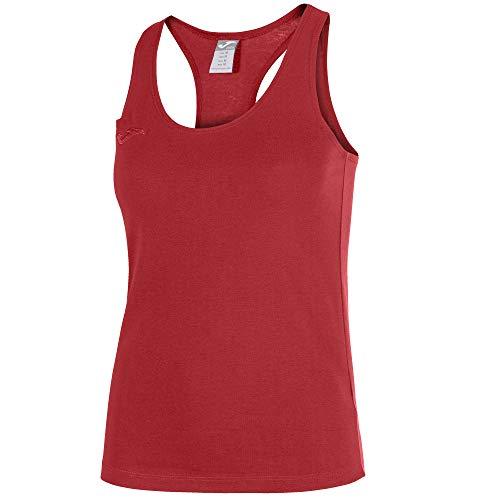 Joma Larisa Camiseta Tirantes, Mujer, Rojo, L