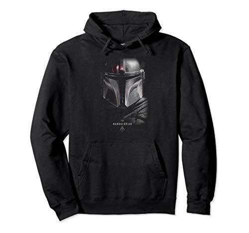 Star Wars The Mandalorian Dark Portrait Pullover Hoodie