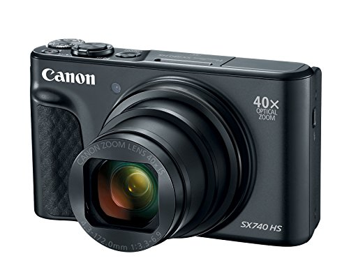 Canon PowerShot SX740 Digital Camera w/40x Optical...