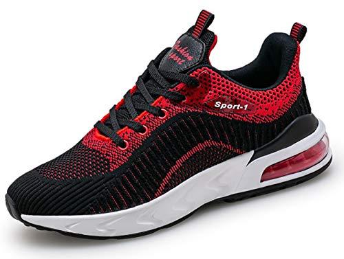 QJRRX Aire Zapatillas de Running para Hombre Mujer Zapatos para Correr Gimnasio Deporte Sneakers 38-47