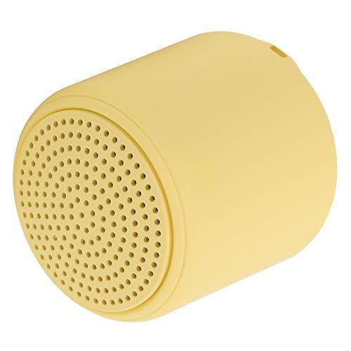 T osuny Altavoz Bluetooth - Altavoces Bluetooth inalámbricos portátiles, Mini Altavoz de Audio inalámbrico con Interfaz USB con cordón, se Adapta a teléfonos Inteligentes(Amarillo)
