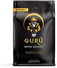 Guru Coffee Company Premium Medium Roast Ground Coffee, Single Origin Colombia – Responsibly Sourced Gourmet Specialty Gra...