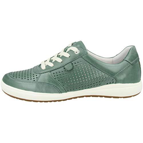Josef Seibel Zapatos con cordones para mujer Caren 24, con cordones, color Turquesa, talla 42 EU