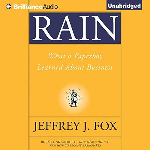 Rain audiobook cover art