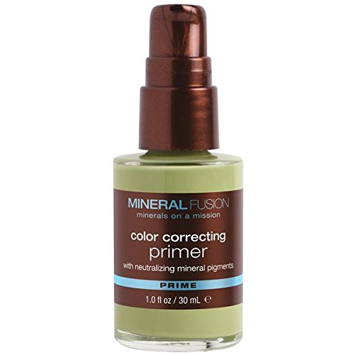 Mineral Fusion Primer, Color Correcting, 1 Ounce (Packaging May Vary)