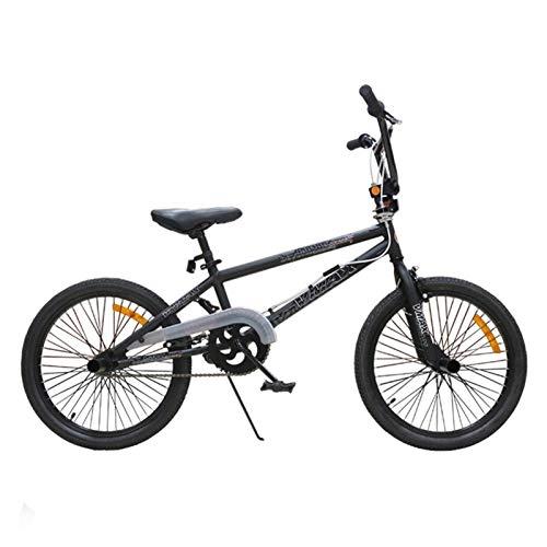 Bici da Strada Maschile e Femmina Adulti Adulti Bicicletta Motocross Street Bike da 20 Pollici Extreme Fancy Stunt Bike Bicycle (Color : Black)