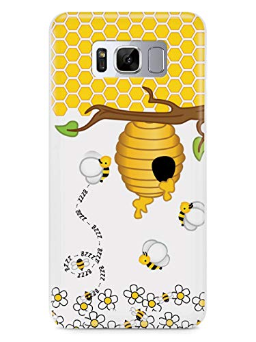 Inspired Cases - 3D Textured Galaxy S9 Plus Case - Rubber Bumper Cover - Protective Phone Case for Samsung Galaxy S9 Plus - Honey Bee