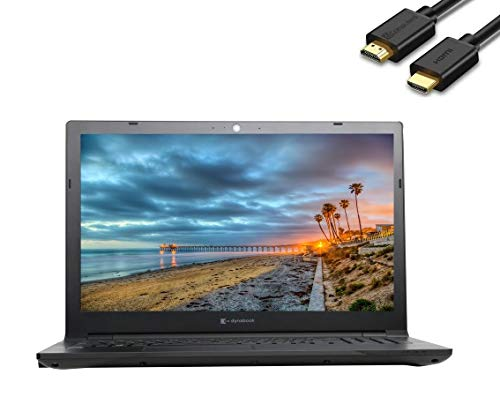2020 Toshiba Dynabook Tecra A50-F 15.6' Full HD FHD (1920x1080) Business Laptop (Intel Quad Core i7-8565U, 32GB DDR4 RAM, 1TB M.2 SSD) Wi-Fi 6, Type-C, HDMI, DVD, VGA, Windows 10 Pro+IST HDMI Cable