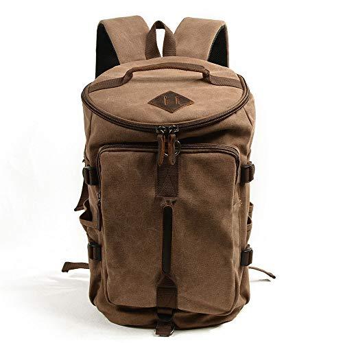 DKee Mochila al aire libre de gran capacidad bolsa de hombro impermeable bolsas de lona en el simple, antirrobo bolsa de viaje de moda (30 x 25 x 45 cm)