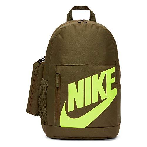 Nike zaino sportivo ragazzi verde giallo fluo 20 litri