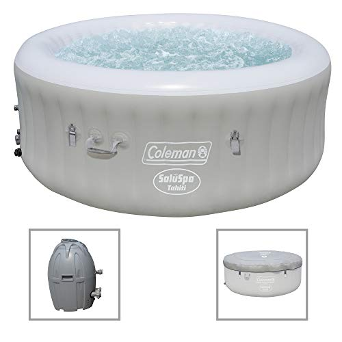 Coleman Saluspa 71 x 26 Tahiti Airjet Hot Tub Spa (Gray)