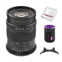7artisans 60mm F2.8 II V2.0 APS-C Format Makro-Objektiv, Kompatibel mit MFT M4/3-Mount spiegellose Kamerasas E-PL1 E-PL2 E-PL3 E-PL5 E-PL6 E-PL7 GH2 GH3 GH4 GH5 GH5S GM1 GM5 GM7 GX1 GX7 GX8