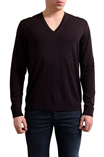 Prada Men's Sweater Red