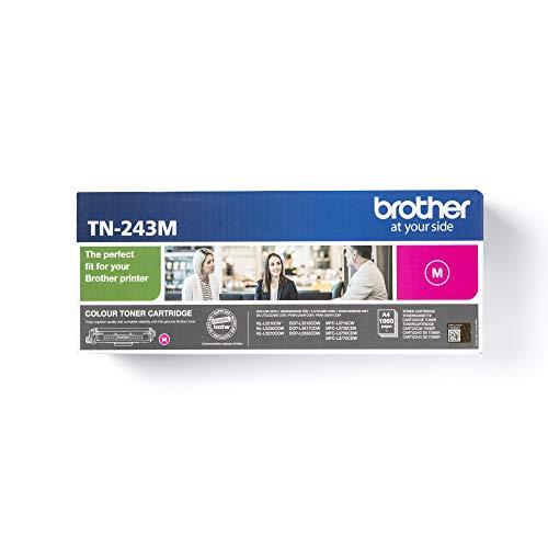 Brother TN-243M Tonerkassette (für Brother DCP-L3510CDW, DCP-L3550CDW, HL-L3210CW, HL-L3230CDW, HL-L3270CDW, MFC-L3710CW, MFC-L3730CDN, MFC-L3750CDW und MFC-L3770CDW) magenta