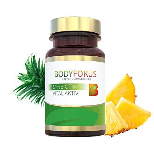 BodyFokus SynBiotik Vital Aktiv - Starker Partner für Ihren Darm - 1 Dose