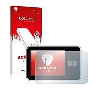 upscreen Scratch Shield Screen Protector compatible with Tandem Diabetes Care t:slim X2 Insulin Pump - HD-Clear, Anti-Fingerprint
