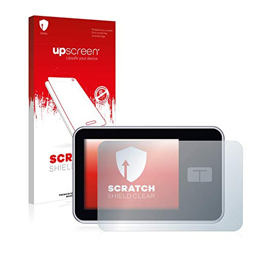upscreen Schutzfolie kompatibel mit Tandem Diabetes Care t:Slim X2 Insulin Pump – Kristallklar, Kratzschutz, Anti-Fingerprint