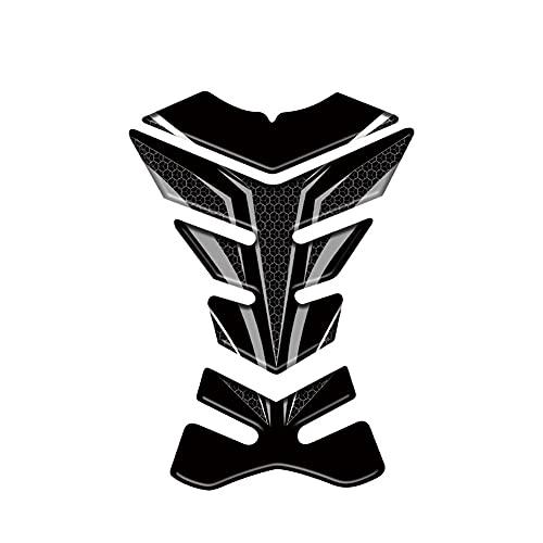 Protector DE Tanque Moto para B-M-W S1000RR S 1000 RR S1000R S1000XR, Protector De Almohadilla De Tanque De Motocicleta, Adhesivo Decorativo, Calcomanías De Espina De Pescado, Resina Epoxi