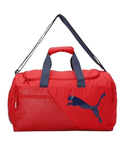 PUMA unisex-adult PUMA Duffle Bag IND II High Risk Red-Peacoat Luggage- Garment Bag-X