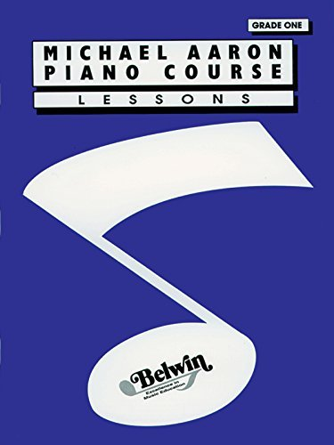 Michael Aaron Piano Course: Lessons Grade one 1 by Michael Aaron (2005) Paperback