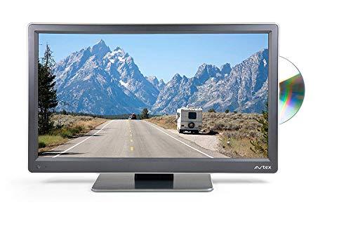 Avtex L168DR Ultra-Compact/Lightweight Widescreen Full HD LED TV/DVD/PVR - Black, 16-Inch