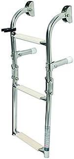 Edelstahl Badeleiter mit 3 Stufen / Breite 26 cm