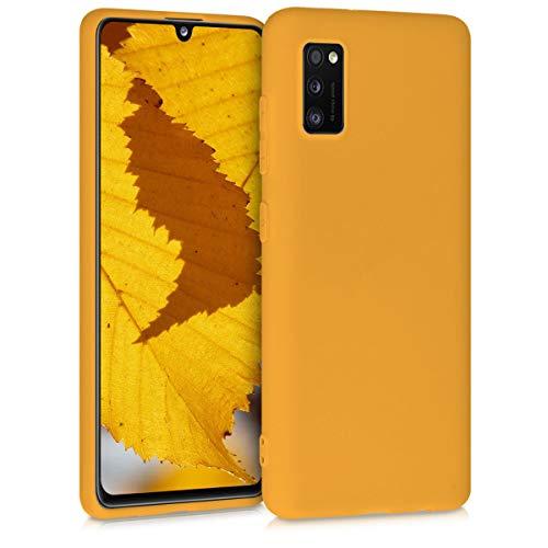 kwmobile Cover Compatibile con Samsung Galaxy A41 - Cover Custodia in Silicone TPU - Backcover Protezione Posteriore- Miele