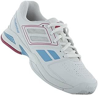 Babolat Junior Propulse Team BPM AC Tennis Shoes (White/Pink) (1 US)