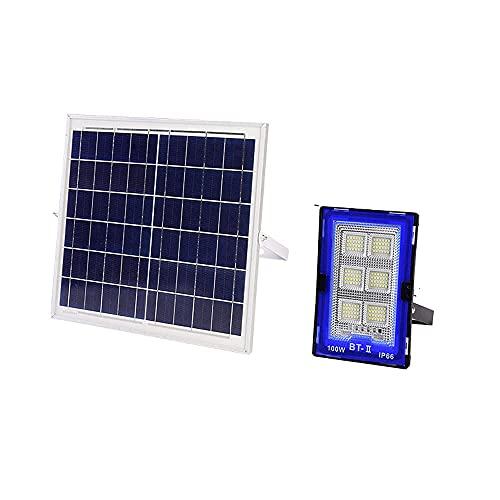 100W-300W Con Luces De Inundación Solares Al Aire Libre Con Control Remoto, Lámpara De Paisaje Con Foco Solar, Lámpara De Pared Led Impermeable Para El Hogar Lámpara De Calle De Inducción Solar