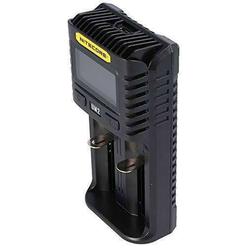 Nitecore UM2 Universal Ladegerät UMS2 1500mA USB Erwachsene Unisex schwarz L 152 x B 73 x H: 40