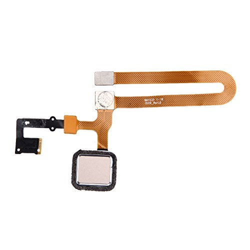 Byr883onja Schutzhülle für OPPO R7 Plus Fingerabdrucksensor, Flexkabel (Gold)