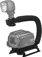 Pro Video Stabilizing Handle Grip for: Sony Cyber-Shot DSC-P92 Vertical Shoe Mount Stabilizer Handle