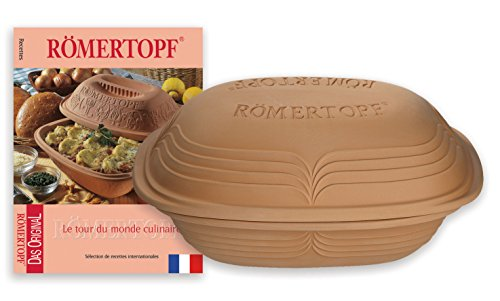 Römertopf ROMERTOPF cocotte Modern Look 2.5kgs + Livre