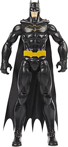 BATMAN 30,5 cm große Actionfigur (schwarzer Anzug), für Kinder ab 3 Jahren.