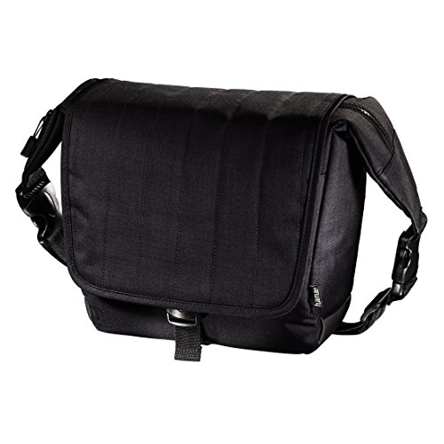 Hama Kameratasche mit Tabletfach (Innenmaße 23,5 x 10 x 20 cm, Herausnehmbare gepolsterte Innentasche, Treviso 140) dark petrol